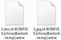 .arenaファイルを復号化し、Arena ランサムウェアを削除
