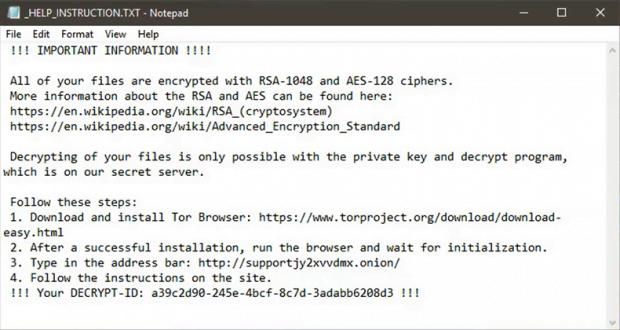 Mole00 ランサムウェアが提供する_HELP_INSTRUCTION.txt解読マニュアル