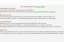 RSA-4096ランソムウェアウィルスの削除と暗号解凍方法